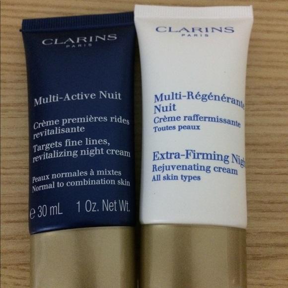 Clarins Other - Clarins Night Cream Pair